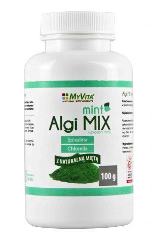 Algi MIX MINT (spirulina + chlorella) –MyVita, 100g