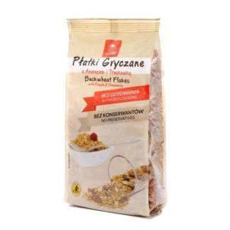 Płatki gryczane błyskawiczne -ananas, truskawka –ESKA, 250g –ESKA, 250g
