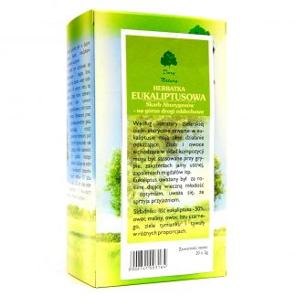 Herbatka Eukaliptusowa Eko –DaryNatury, 25saszetekpo2g –DaryNatury, 25saszetekpo2g