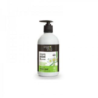 Mydło do rąk nawilżające miętowy jaśmin –OrganicShop, 500ml –OrganicShop, 500ml