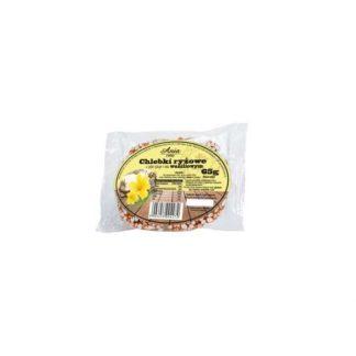 Chlebki ryżowe waniliowe w syropie ryżowym –Bioania, 65g