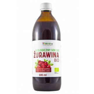 Ekologiczny sok z Żurawiny BIO –MyVita, 500ml