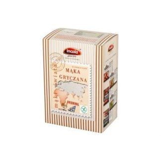 Mąka gryczana bezglutenowa –Incola, 400g