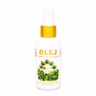 Olej z korzenia łopianu z ziołami –NAMI/Rosja, 100ml –NAMI/Rosja, 100ml