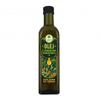 Olej z Owoców Rokitnika – tłoczony na zimno –DaryNatury, 100ml –DaryNatury, 100ml