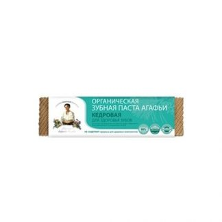 Organiczna pasta do zębów cedrowa –PervoeReshenie, 75ml –PervoeReshenie, 75ml