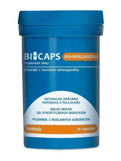 Ashwagandha- 100% naturalne kapsułki –ForMeds, 60kapsułek
