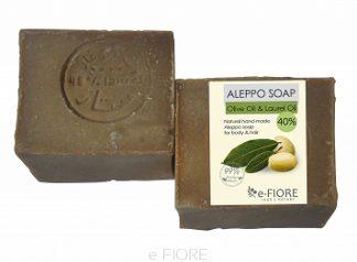 Mydło ALEPPO oliwkowo-laurowe 40% TRĄDZIK, CERA TŁUSTA –Fiore, 200g