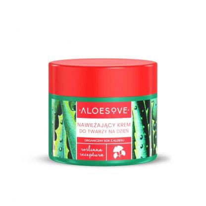 Aloesove Nawilżający krem do twarzy na dzień –Sylveco, 50ml