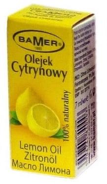 Cytrynowy 100% naturalny olejek eteryczny –Bamer, 7ml