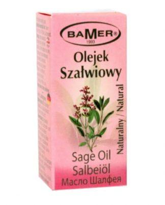 Szałwiowy 100% naturalny olejek eteryczny –Bamer, 7ml