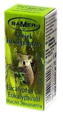 Eukaliptusowy 100% naturalny olejek eteryczny –Bamer, 7ml –Bamer, 7ml